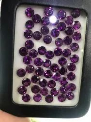 Natural Purple Garnet Stones