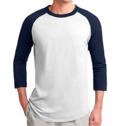 Mens Plain Raglan Full Sleeves T Shirts