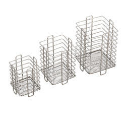 Stainless Steel Square Spoon Stand