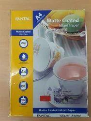 Fantac 105gsm Matte Coated & Dye Sublimation Paper
