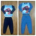 Kids Loop Knit Brushed Top And Pant