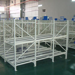 5-6 Feet MS FIFO Racks, For Warehouse Storage, 2-3 Tons