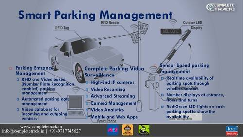 It Technology Services Of Parking Management System