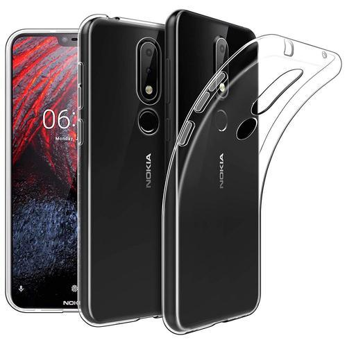 cheap for discount 5285b f8560 Premium Nokia 6.1 Plus X6 Transparent Back Cover Case Cover Tpu Buy 2018  Nokia 6.1 Plus X6 Mobile