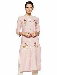Fancy Casual Wear Cotton Kurti