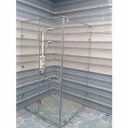 SS Maxx Transparent Glass Enclosure