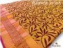 Vibrant Print Cotton Saree