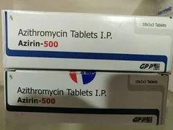 Azirin- 500 ( Azithromycin 500 mg ) Tablets