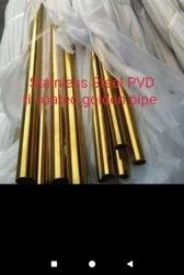 Stainless Steel Golden pipe