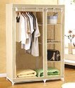 Large Size Storage Wardrobe / Foldable Almirah / Cloth & Accessory Rack Cum Cabinet