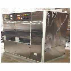 SS Outdoor Fully Automatic Double Die Dona Machine
