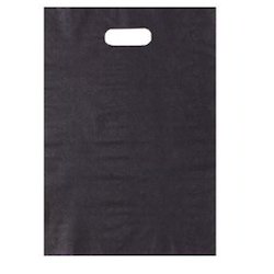 Black Plain Plastic Bag