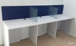 1 Day To 1 Year Onwards Made In Delhi Office Workstation Table On Hire Rent, Delhi Ncr
