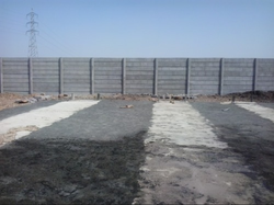 Plant Prestressed Precast Compound Wall