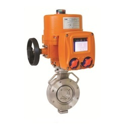Electric Actuator Operated Tripple Offset Butterfly Valve
