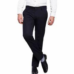 Men XL Plain Formal Trouser