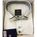 Cotton Full Sleeves White Formal Shirt