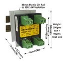 25 Amp 3 Phase DC To AC SSR
