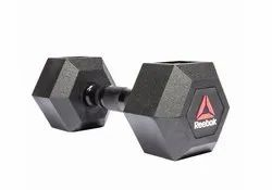Reebok, Fixed Weight, Rubber Hex Dumbbell, Weight: 5 To 50 Kg