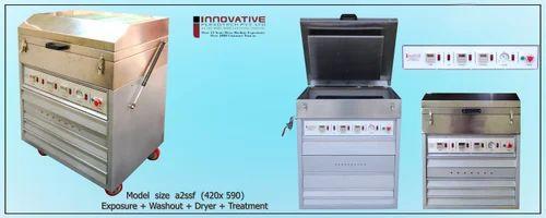 Photopolymer Plates Exposure Unit