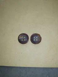 Round Bone Buttons
