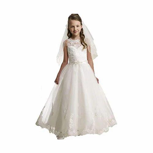 32c0ddae2726ed White Fancy First Communion Dress, Rs 10000 /piece, S.B. ...