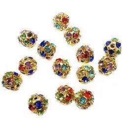 Free Assorted Rhinestone Beads, Size: Free