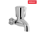 Stainless Steel Classic Somany Dhaara Bib Cock Without Flange For Bathroom Fitting