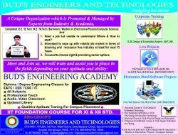 M Tech Training Classes Services