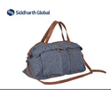 Siddharth Tote & Shoulder Denim Duffel Bag
