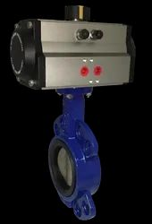 Shah Actuator Butterfly Valve