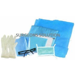 HIV Drape Kit Pack for doctor & patient