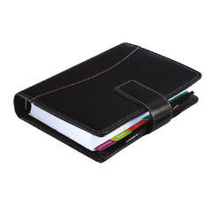 Business Organizer Leatherite Black