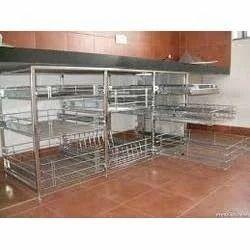 Modular kitchen trolley jain doors modular kitchen trolley watchthetrailerfo