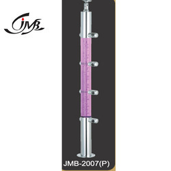 Standard Acrylic Stainless Steel 304 Acrylic Glass Balusters
