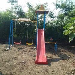 Children's outdoor playground equipment
