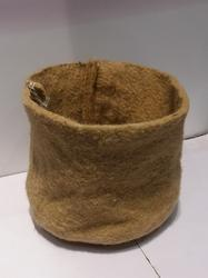 Jute Nursery Round Pot Planter