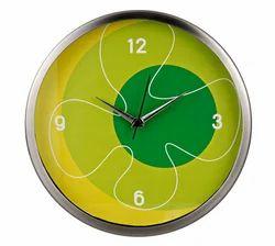Custom Multicolor Designer Wall Clock, for Home or Office