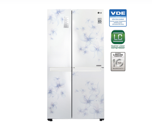 687 Litres Side By Side Refrigerator Gc B247scuv At Rs 97990 Piece