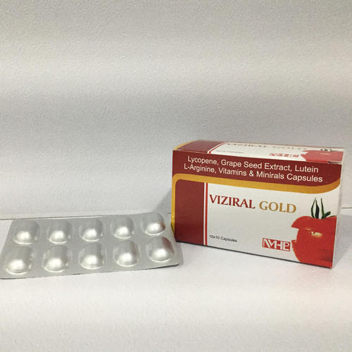 Lycopene With Multivitamin Capsules, Packaging Type: Alu Alu