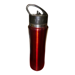Red Promotional Sipper Bottle, Capacity: 450 Ml