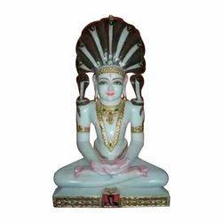 Marble Mahaveer Swami Moorti