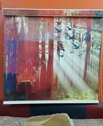 Customize Printed Roller Blind