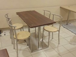Wooden Restaurant Table & Chair