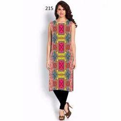 Ladies Designer Printed Kurti