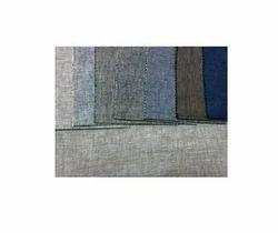Plain Linen Blend S/J Lycra Fabric