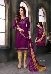 Cotton SC Laadki Fifth Edition Dress Material