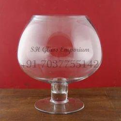 Large Brandy Glass Vases