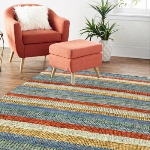 Handmade Best Modern Design Area And Wool Viscose Rug