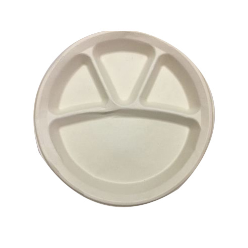 Earthsoul India Round 4 Compartment Biodegradable Disposable Plate  sc 1 st  IndiaMART & Earthsoul India Round 4 Compartment Biodegradable Disposable Plate ...